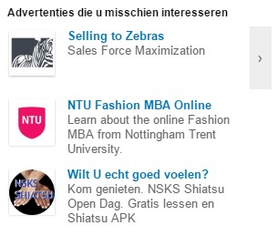 LinkedIn advertentie